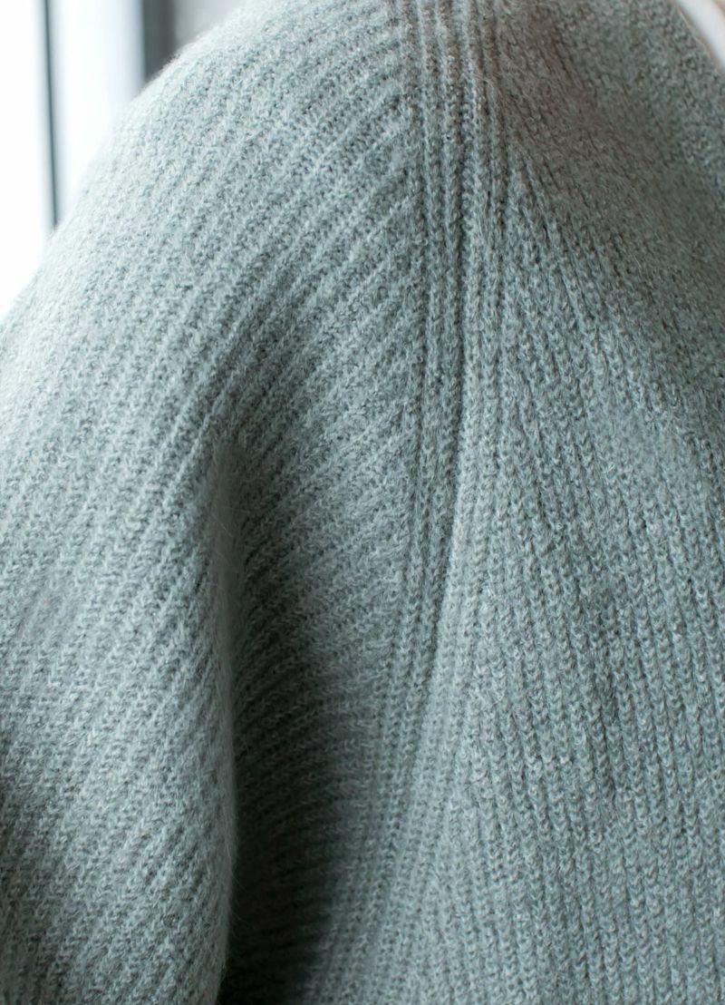 着用イメージ 168cm ダークミント