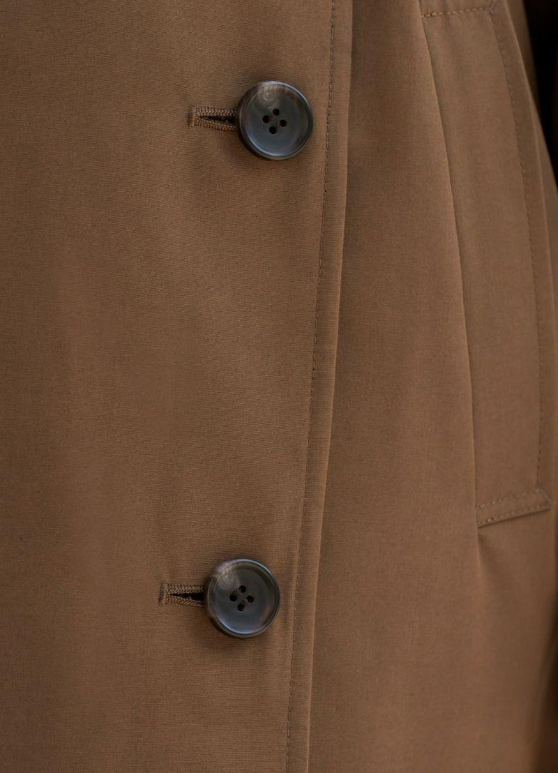 着用イメージ 166cm 着用サイズ 02 ブラウン