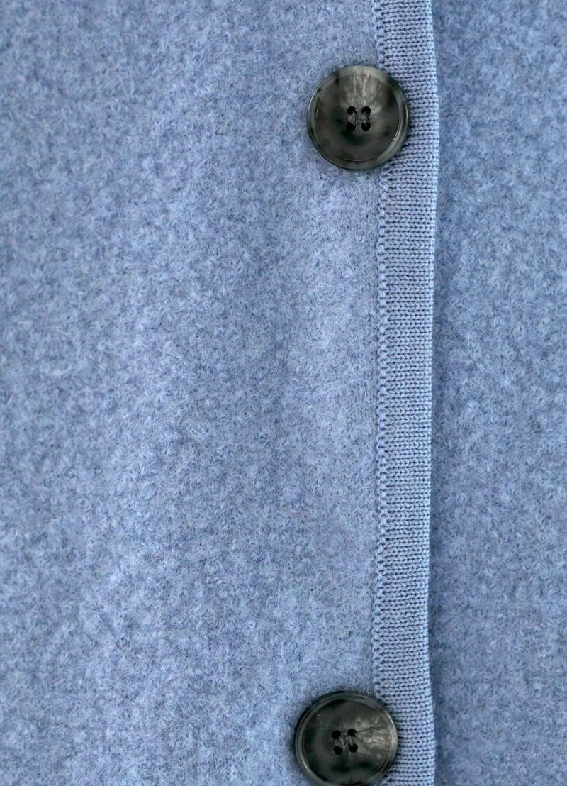 着用イメージ 166cm アイリスブルー