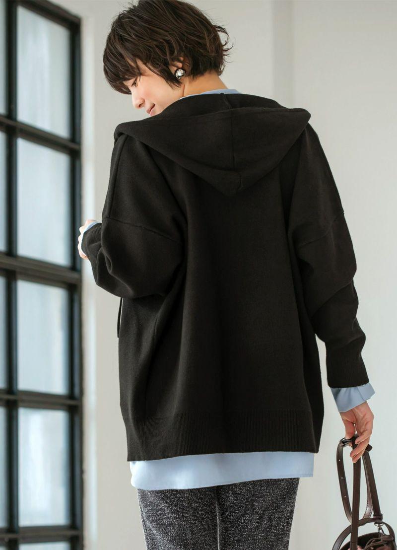 着用イメージ 170cm ブラック
