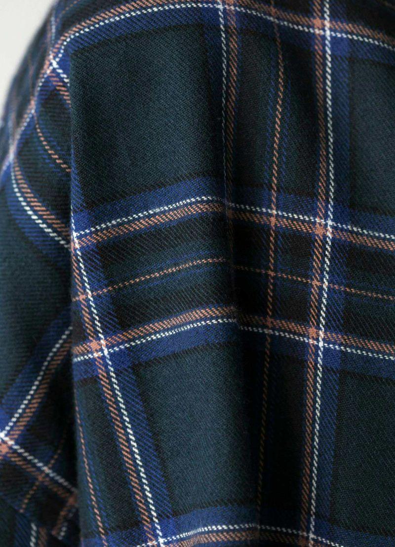 着用イメージ 170cm ブルーグリーン