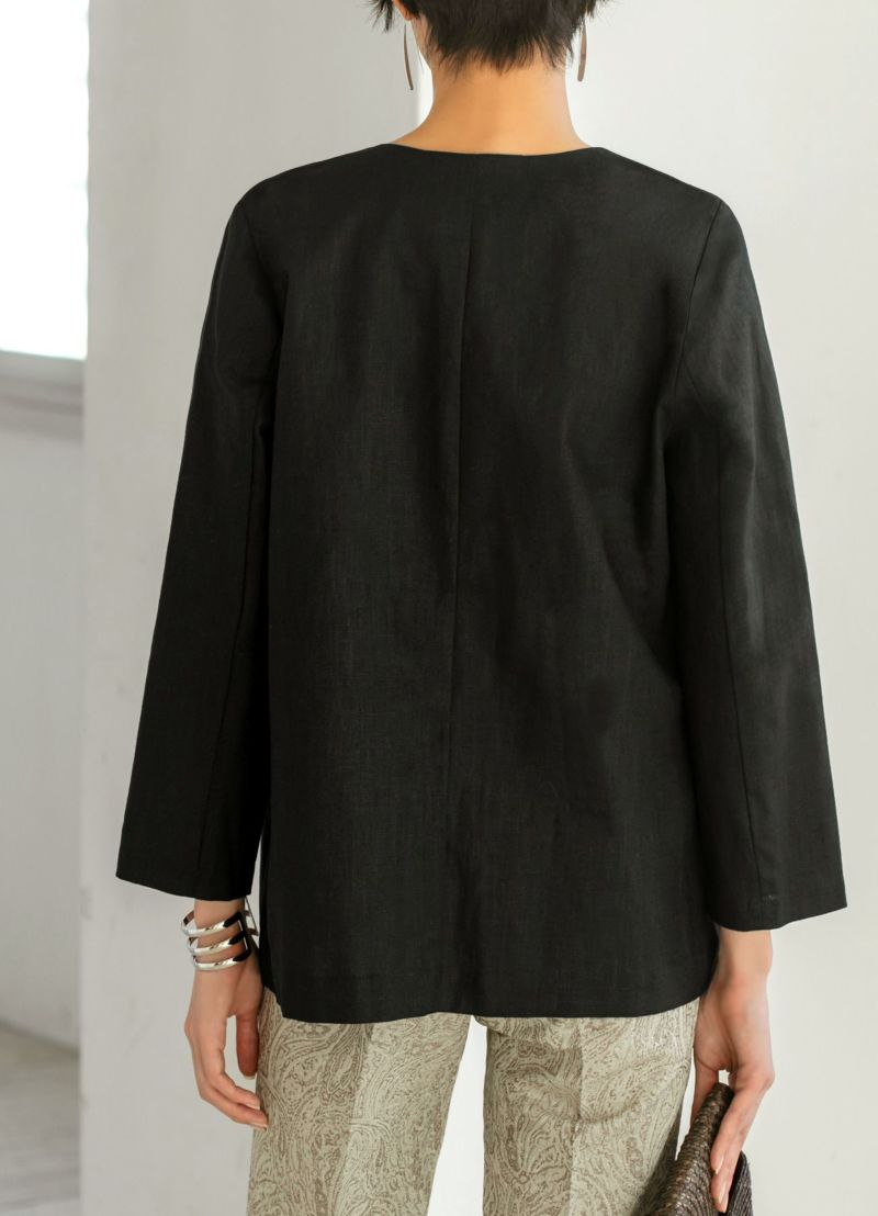 着用イメージ 168cm ブラック