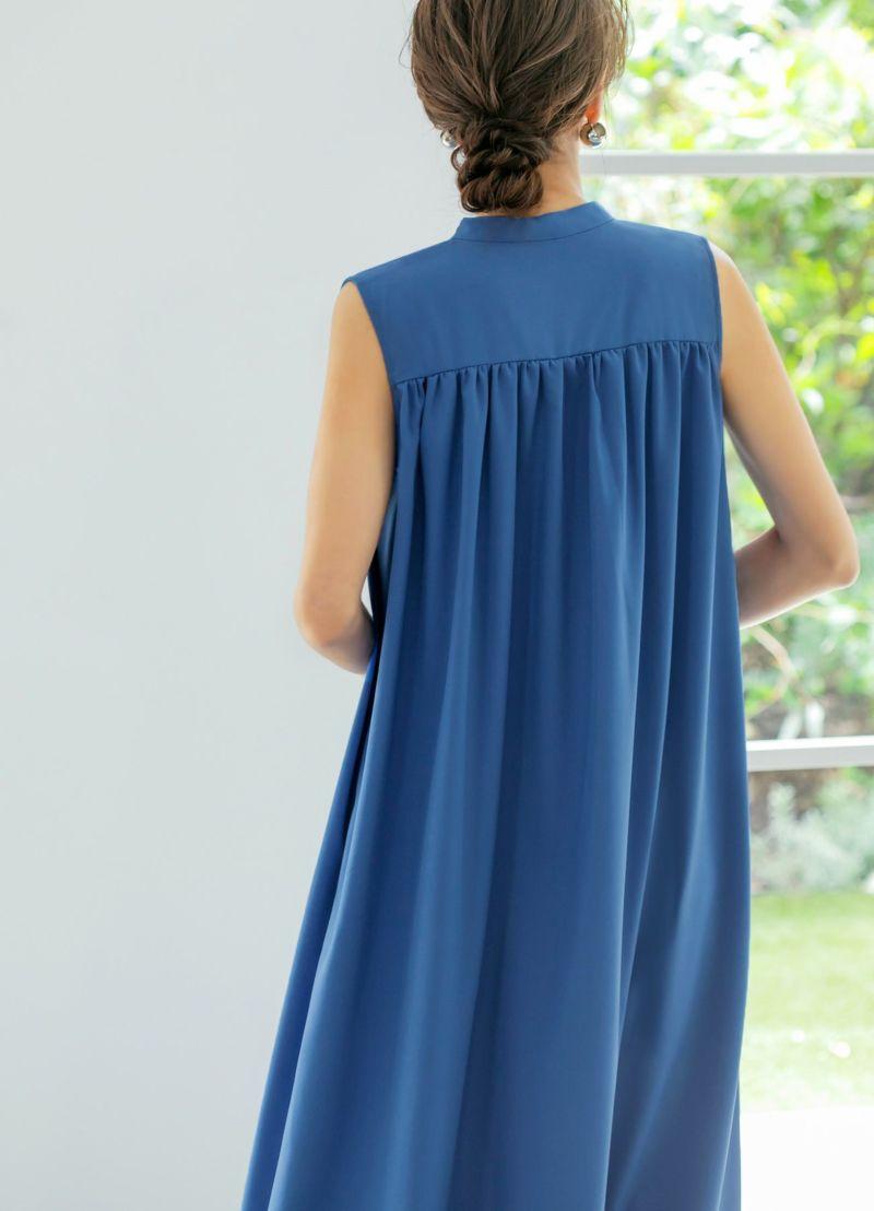 着用イメージ 166cm ブルー 着用サイズ:02