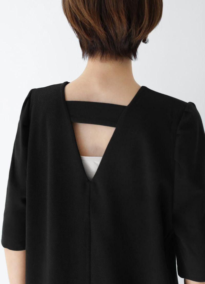 着用イメージ 166cm アイボリー×ブラックパンツ Sサイズ
