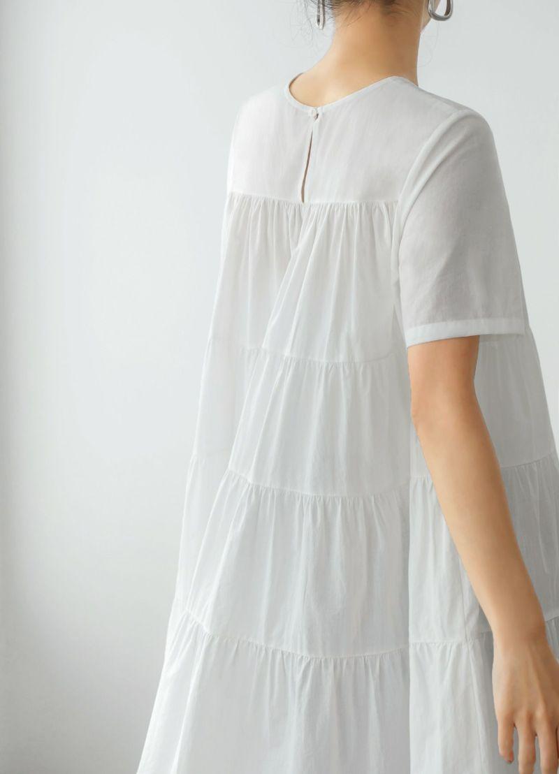 着用イメージ 163cm ホワイト