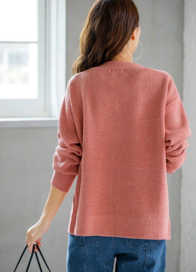 着用イメージ 166cm ピンク