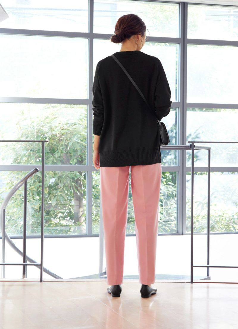 着用イメージ 166cm ピンク 着用サイズ:S