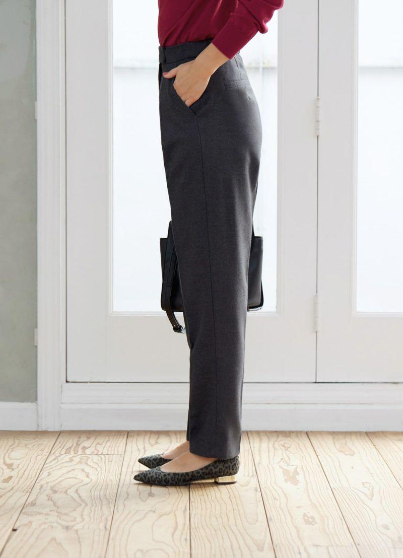着用イメージ 166cm チャコールグレー 着用サイズ:S